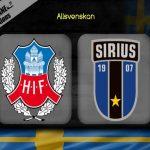 Nhận định Helsingborg vs Sirius, 00h00 ngày 16/07