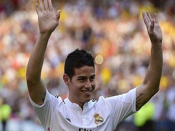 Tin chuyển nhượng ngày 30/7:Real giữ chân James Rodriguez