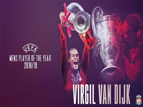 Virgil van Dijk đang thuộc Top đầu Châu Âu