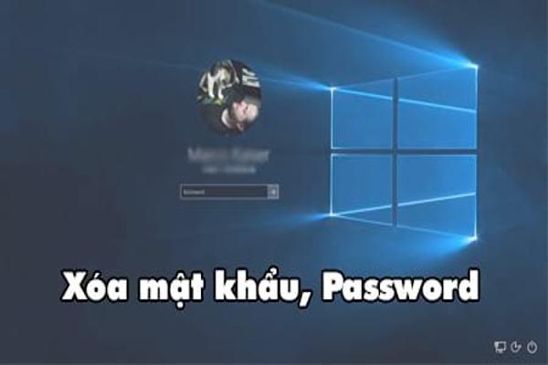 Cách xóa mật khẩu máy tính trên Windows 7 và Win 10