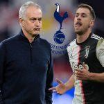 HLV Jose Mourinho tác động giúp Tottenham mua được Aaron Ramsey