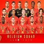 Đội hình thế hệ vàng của ĐTQG Bỉ trước thềm VCK Euro 2021